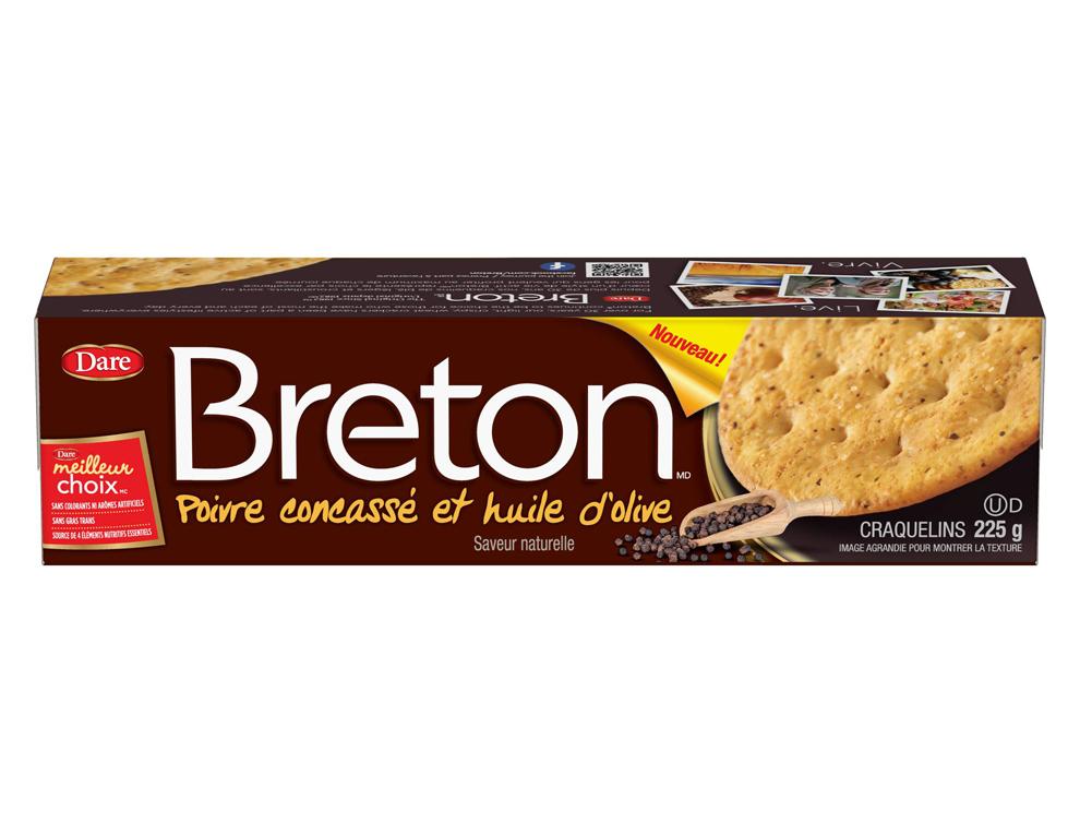 Craquelins Breton Poivre concassé et huile d'olive