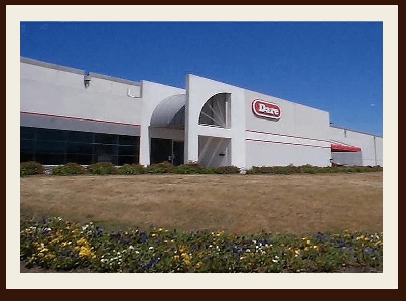 Nouvelle usine de fabrication de craquelins