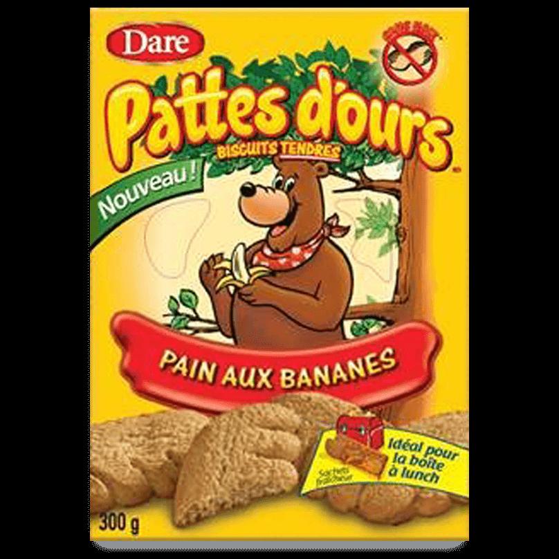 Les biscuits Pattes d'ours à l'échelle nationale