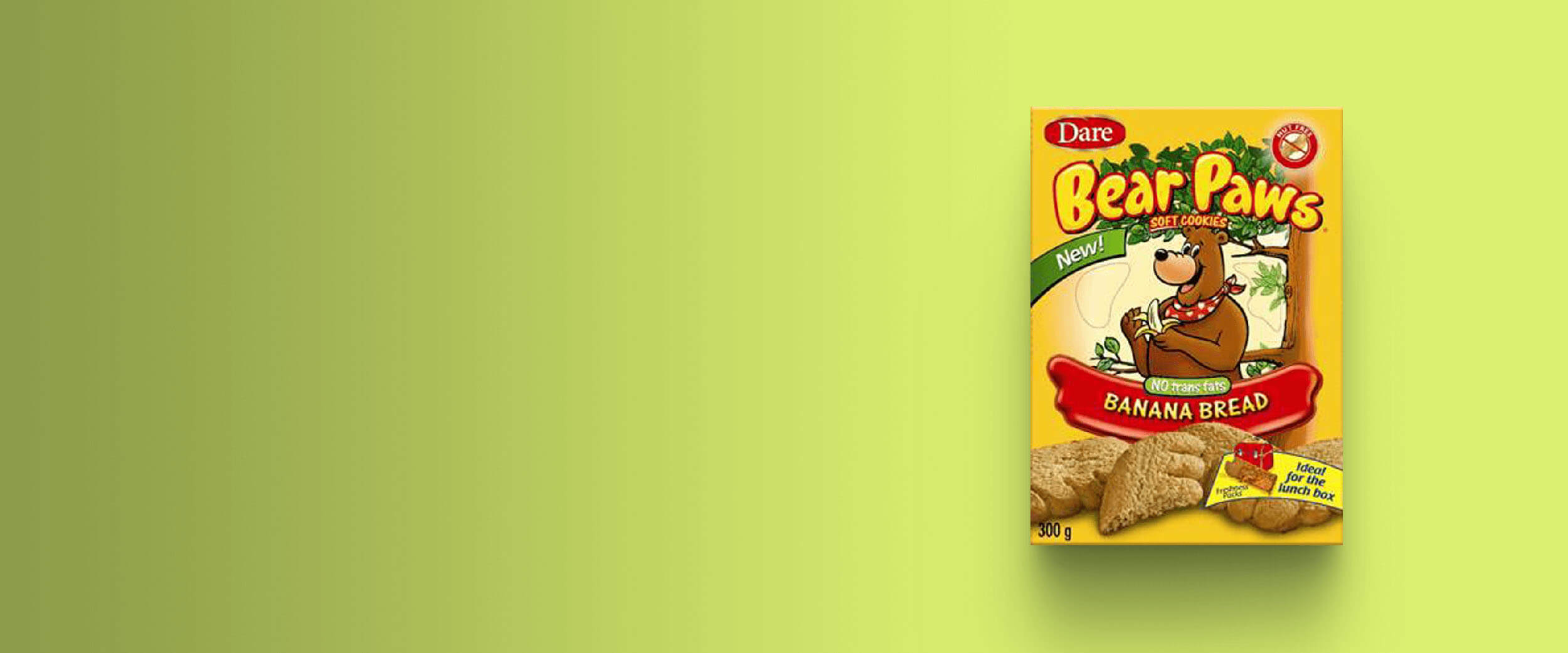 Bear Paws Soft Cookies Goes Nationwide