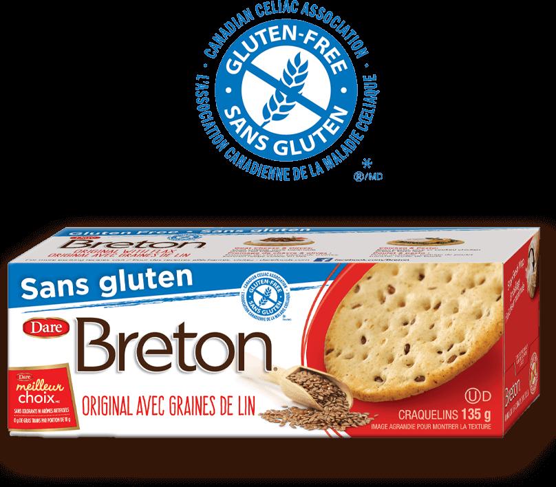 Lancement du premier craquelin sans gluten au Canada