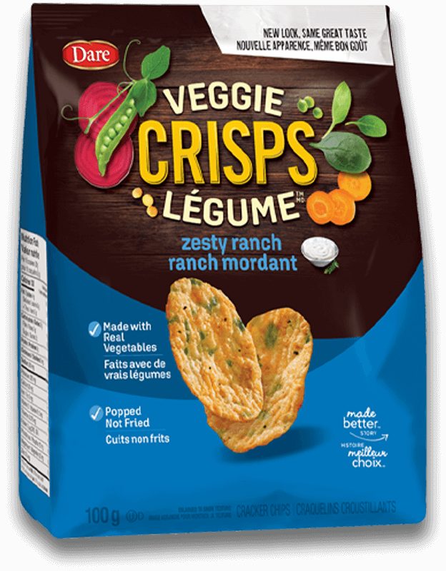 Dare Launches Healthier Snacks in the Cracker Aisle