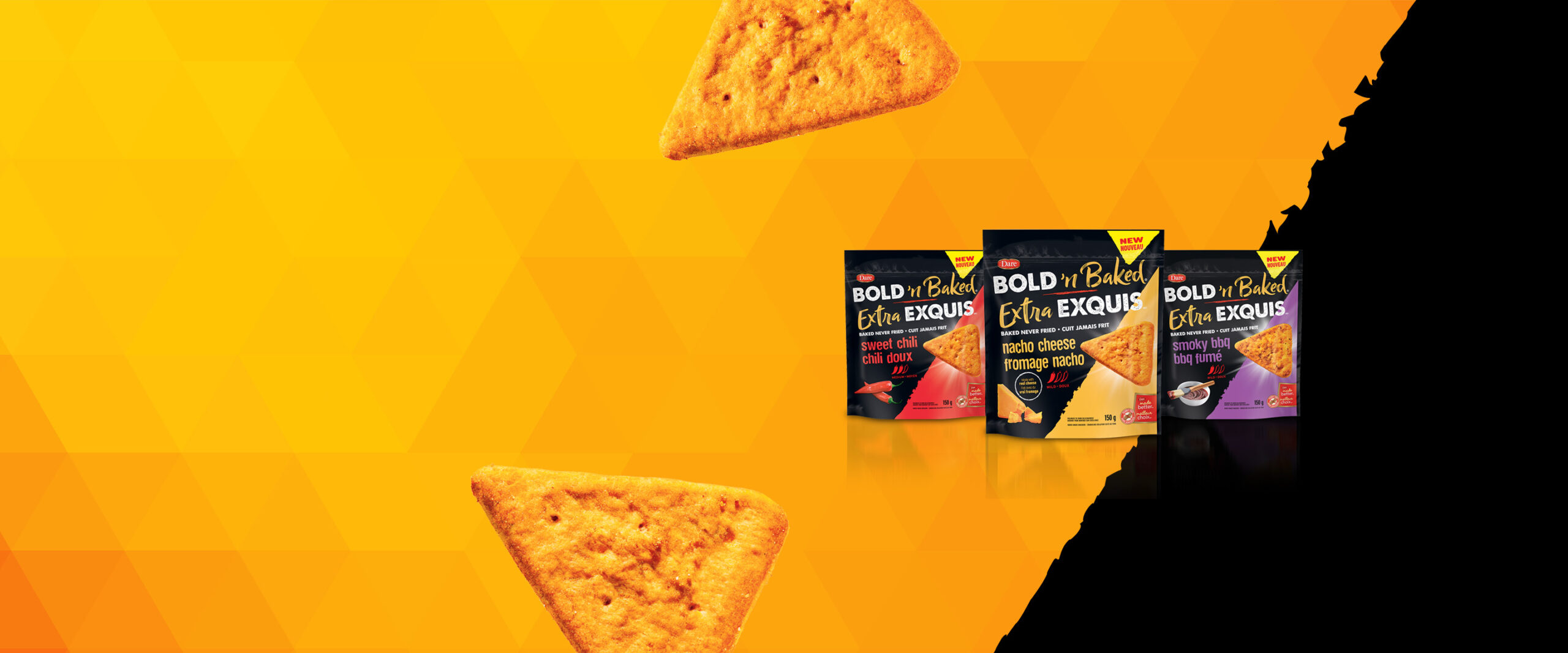 Dare Launches Bold 'n Baked