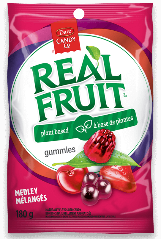 REALFRUIT Gummies Go Plant-Based